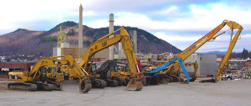 heavy industrial demolition