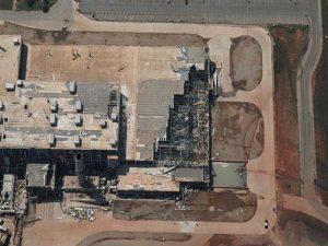 emergency response tornado at GM plant