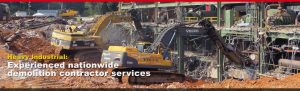 heavy industrial demolition contractor