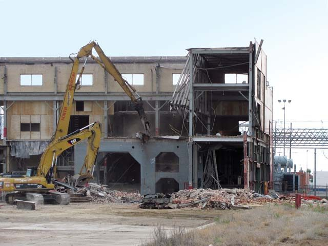 Xcel East Texas Power Plant Demolition