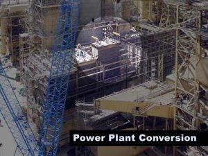 Hunter Power Plant Demolition Hoist Highligted