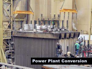 Hunter Power Plant Demolition Retro Fit