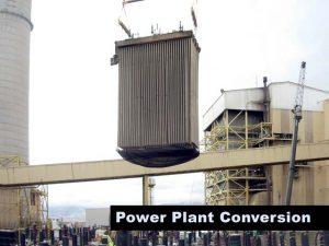 Hunter Power Plant Demolition Hoist