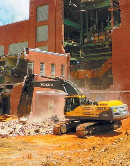 NADC Heavy Industrial Power Plant Demolition