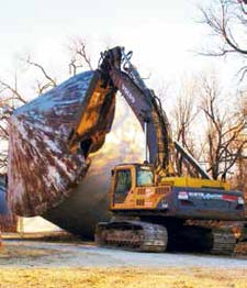 NADC Heavy Industrial Tank & Tower Demolition