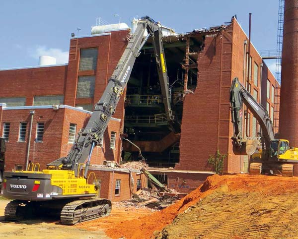NADC Heavy Industrial Power Plant Demolition