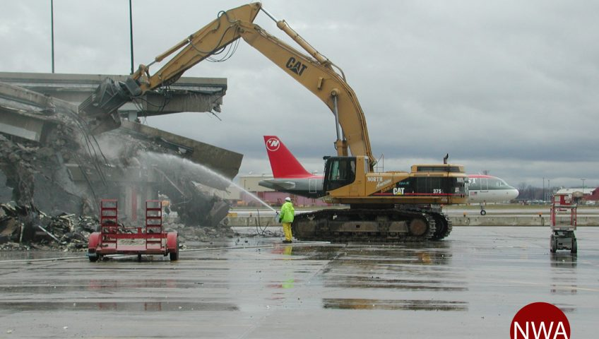 Detroit Metropolitan Wayne County Airport Demolition