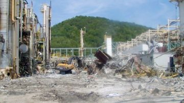 Bayer New Martinsville Plant Demolition