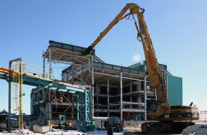 Saginaw Waste Water Treatment Plant Demolition