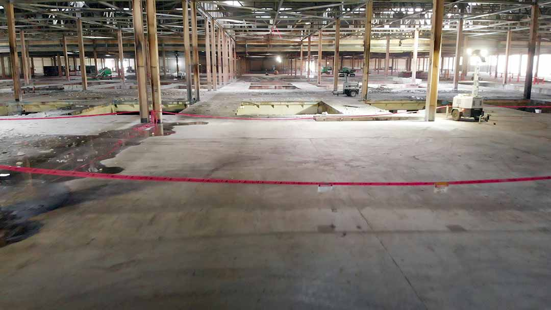 Major Automotive Facility Retrofit & Strip Out