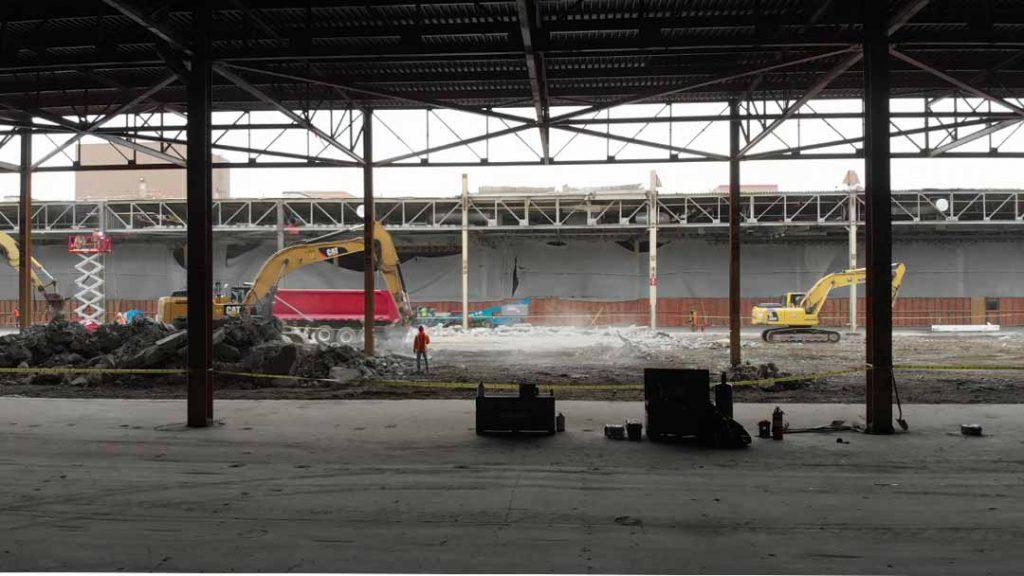 Major Automotive Facility Retrofit & Strip Out